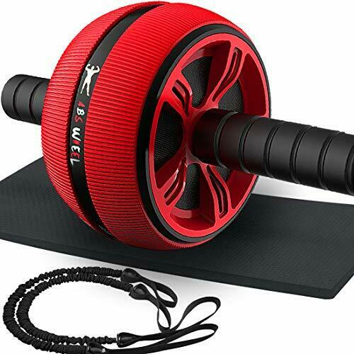 Exercise Equipment CoreWorkout Machine Wider Ab Roller Wheel plus Resistant Band