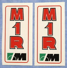 DUCATI 851 MARZOCCHI FORK MODEL  M1R DECALS PAIR/EARLY 851