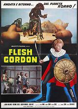 CINEMA-soggettone FLESH GORDON williams, fields, hoyt, ZIEHM