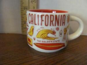 STARBUCKS CALIFORNIA BEEN THERE SERIES 2 OZ MINI MUG ORNAMENT ESPRESSO CUP SHOTS