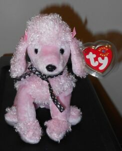 9c67a303d8e Image is loading Ty-Beanie-Baby-BRIGITTE-the-Poodle-Dog-MWMT