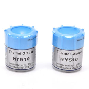 2PCS-HY510-10g-Grey-Thermal-Conductive-Grease-Paste-For-GPU-Cooling-Silicone-AU