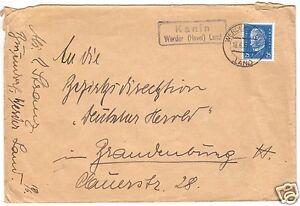 Landpoststempel-Poststelle-II-Kanin-Werder-Havel-Land-Werder-Havel-18-6-32
