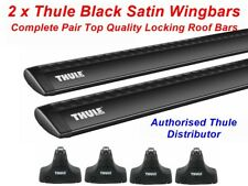 onwards 754 762 1527 Thule Roof Rack Bars Locking Jaguar XF 4dr Saloon 2008