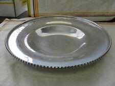 "11.5"" Vintage Hammered Aluminum WROUGHT FARBERWARE Fancy Rim Bowl ~ BKLYN NY~"