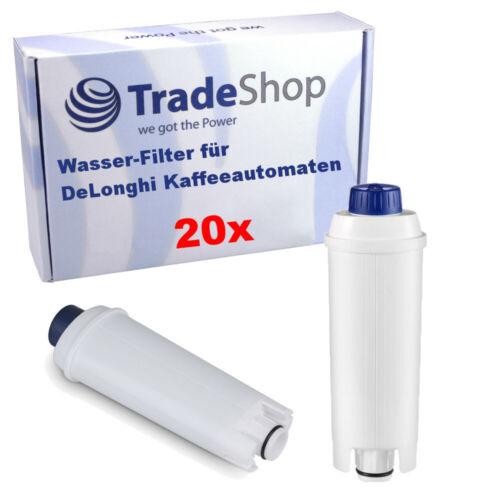 20x   Wasser-Filter für DeLonghi EC820.B EC820.M EC860.M ECAM 350.75.S 350.55.B