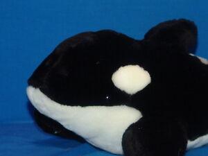 Details About Plush Seaworld Killer Whale Shamu Stuffed Animal Orlando San Antonio Vacation