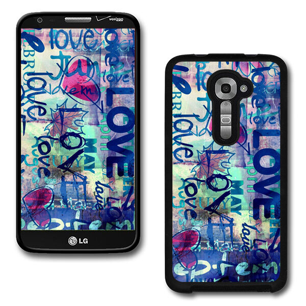 Design Hard Phone Cover Case Protector For LG G2 VS980 Verizon #2636