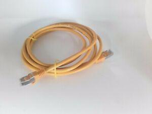 Cable-Ethernet-RJ45-Jaune-CAT6-UTP-Longueur-2m