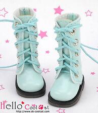 ☆╮Cool Cat╭☆【13-17】Blythe Pullip Doll Shoes Boots # Shiny Sky Blue