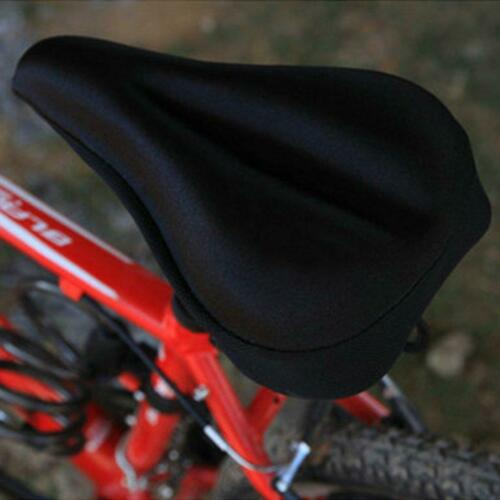 Silicone Gel Thick Soft Bicycle Bike Cycling Saddle-Seat Cover Cushion Pad IR