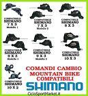 Comandi Cambio compatibili SHIMANO Mountain Bike / City Bike 21V 24V 27V 30V