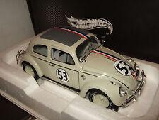 Hotwheels Elite BLY22 Herbie goes to Monte Carlo, VW Beetle in 1:18 Scale