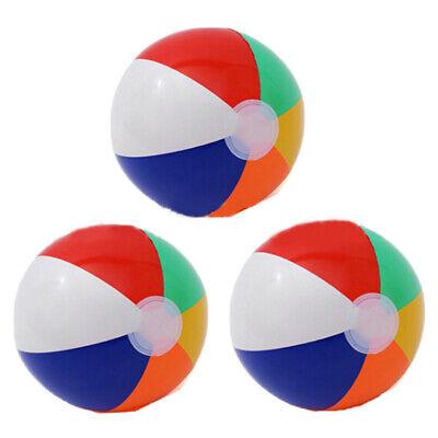 1PC Inflatable PVC Football Soccer Ball Kids Children Beach Pool Sports Ball Toy
