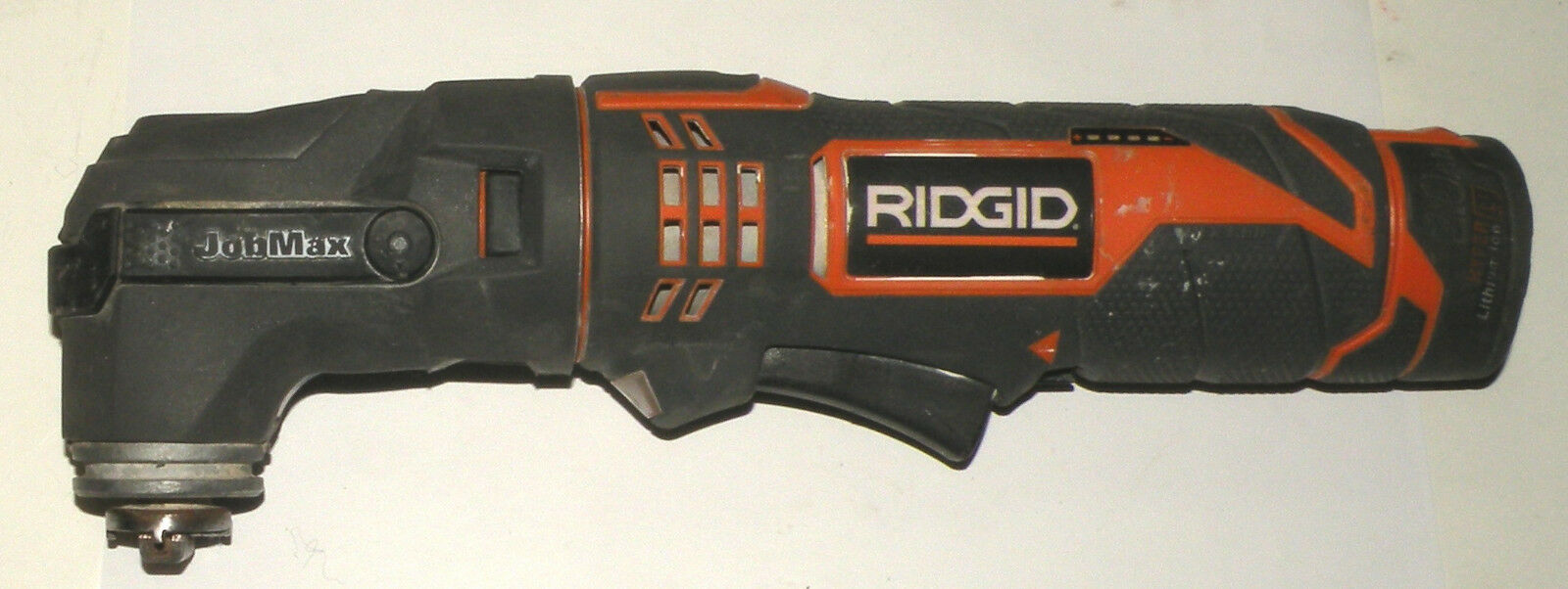 Ridgid R8223500 Series A Multi-Tool w R8223406 Head + Battery, Charger, Case
