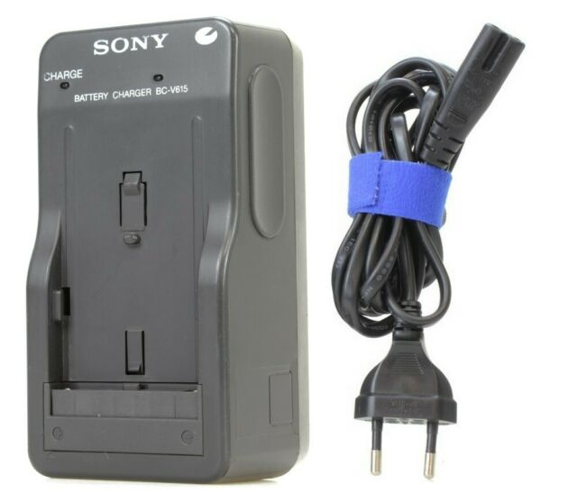 Original Sony BC-V615 Adaptor Chargeur Pour caméscope (Réf#K-626)