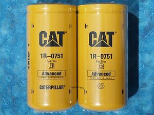 ONE FILTER ONLY Made in the USA Caterpillar Fuel Filter # 1R-0751