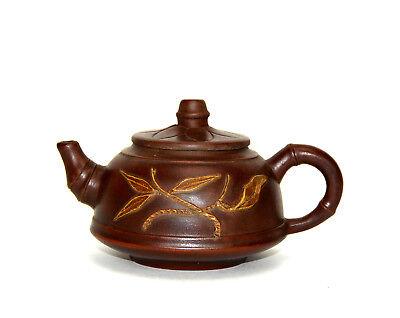 Nice Großartige Fein Chinesisch Yixing Zisha Keramik Teekanne Mit Siegelmarke A Great Variety Of Models Antiques