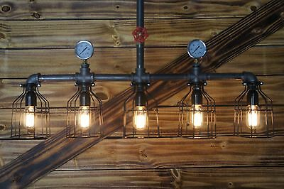 Industrial Pipe Chandelier | Wayfair