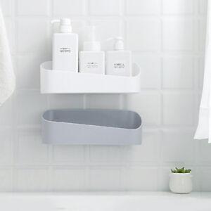 Plastik Badezimmer Kuche Ecke Wand Lagerung Rack Organizer Dusche Regal Korb Ablagen Schalen Korbe Mobel Wohnen Pkovos Lt
