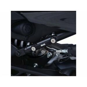 Cover Port Of Footplate R&G RACING Black Yamaha Niken