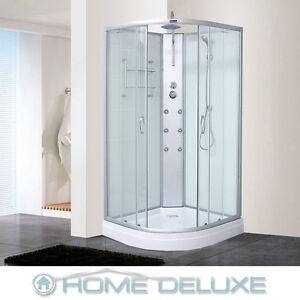 dusche duschkabine duschtempel duschabtrennung fertigdusche eckdusche komplett. Black Bedroom Furniture Sets. Home Design Ideas