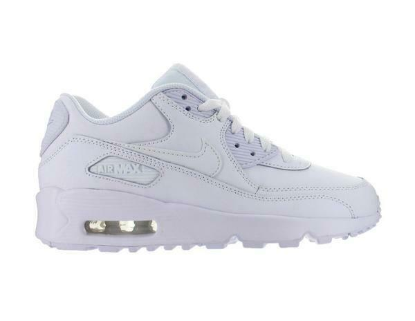 Nike Air Max 90 Ltr 833412 100 GS Youth Leather Premium Boys Retro 95