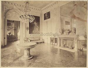 Petit Trianon Versailles France Vintage albumine ca 1880