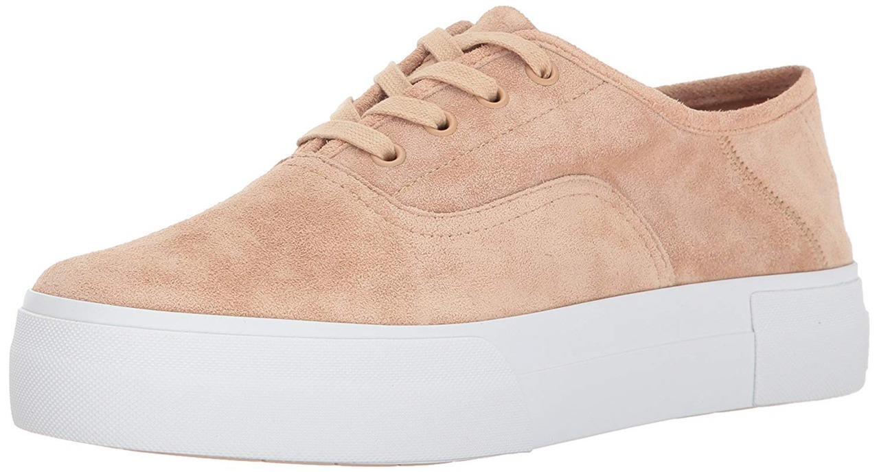 New in Box - - -  250 Vince. Copley pink Suede Platform Sneaker Women's Size 7 8e0082