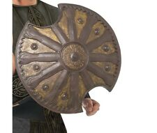Men's Teens Sword and Shield Combo 300 Spartan Roman Gladiator Costume Accessory