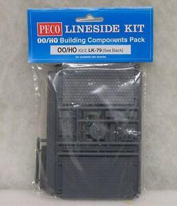 LK-79 KIT No 2 BUILDING ACCESSORIES PACK LINESIDE KIT OO GAUGE PECO