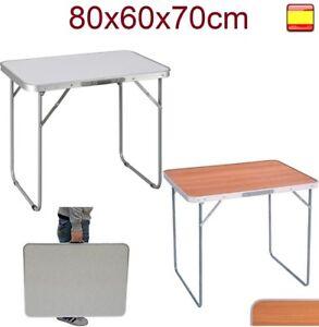 Mesa tipo bistró plegable triangular de aluminio 60 x 60 cm mesa de balcón mesa de jardín mesa bistró mesa