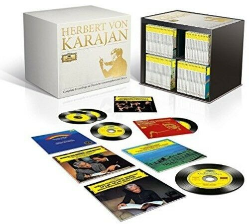Herbert Von Karajan Complete Recordings On Deutsche Grammophon & Decca 355 CD NE