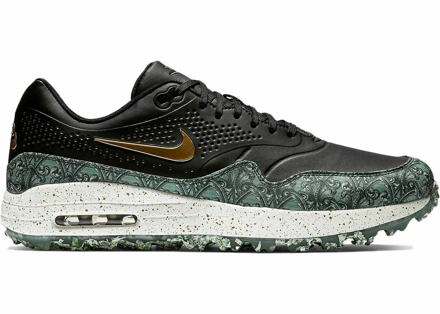 Nike Air Max 1 G NRG Golf Shoes Size 10.5 Payday Paid in Full Money Bq4804 001