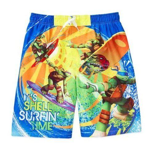 Teenage Mutant Ninja Turtles Swim Trunk Boy Size 6/7