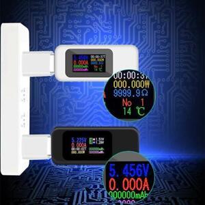 10-in-1-Digital-Dispay-DC-USB-Tester-Current-Voltage-Charger-Voltmeter-Timing