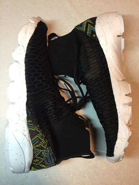 Nike air footscape magista flyknit bhm 824419-001 nero history month 44