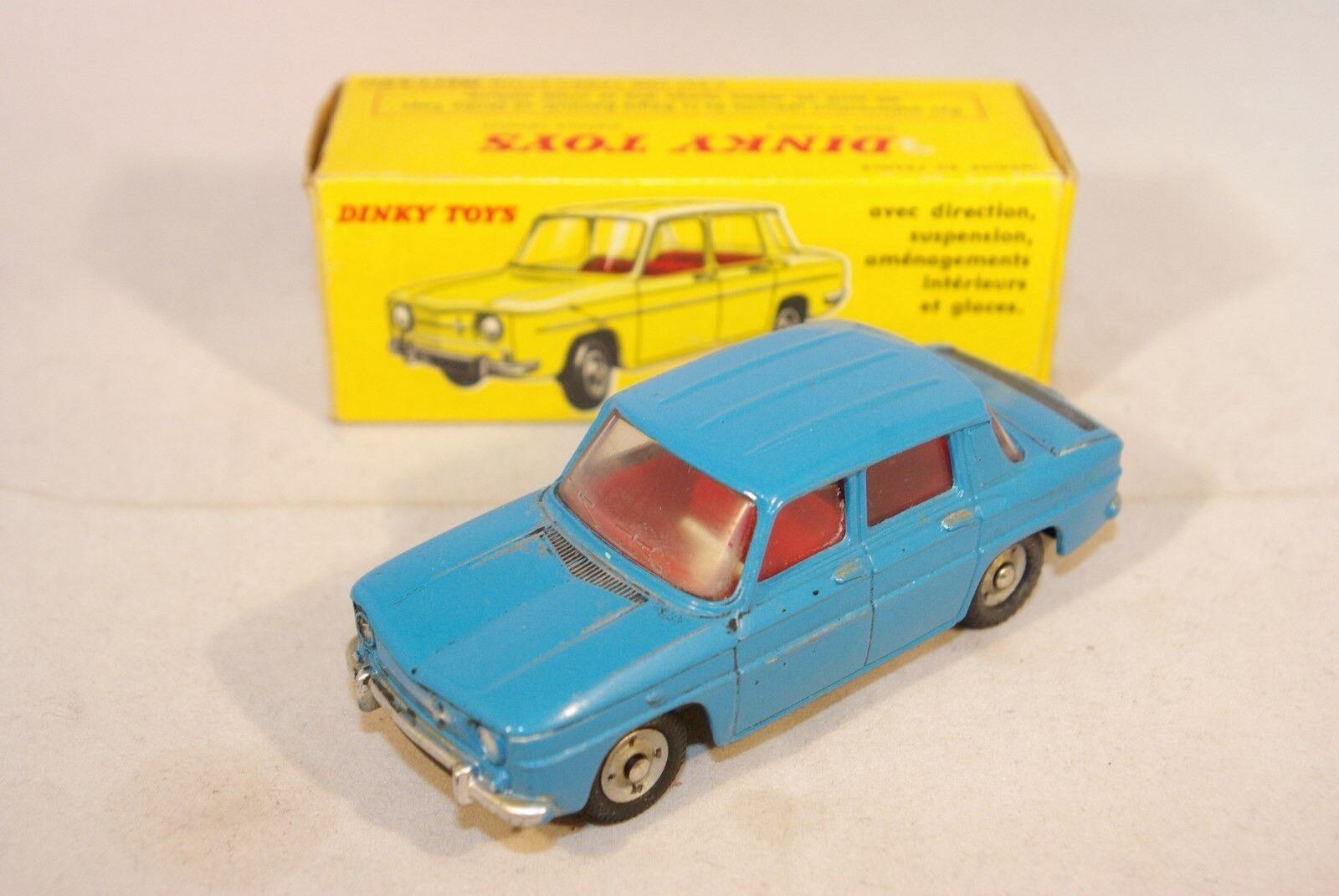 prydlig leksaker 517 RENAULT R8 R 8 blå Excellent lådaED RARE SELETEN RARO