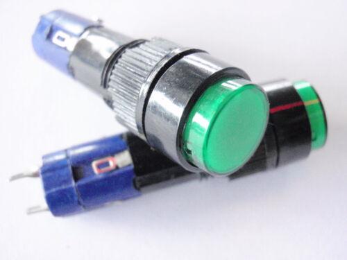 Pressione Retroilluminata assortimento INTERRUTTORE 10x50mm 2x 10105a