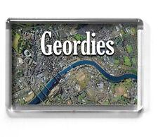 NEWCASTLE UPON TYNE fridge magnet 7x4.5cm GEORDIES Tyne Bridge, Gateshead, NUFC