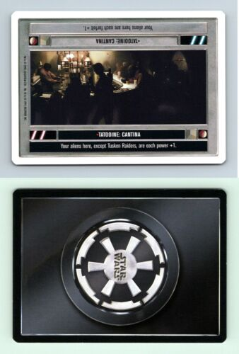 Tatooine Cantina Star Wars Premiere Unlimited 1995 DS Rare CCG Card
