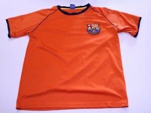 5f27820a6 Men s F.C. Barcelona S Soccer Futbol Jersey (Orange) Rhinox Jersey ...