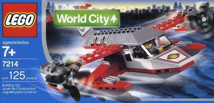 Lego Stadt Welt Stadt 7214 Waterplane Neu Ovp Hafen Flugzeug