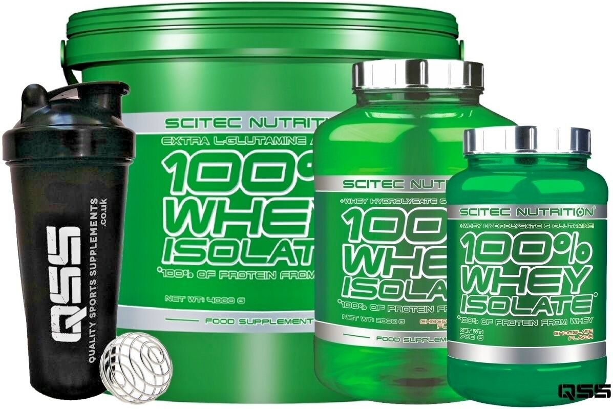 SCITEC NUTRITION 100% WHEY ISOLATE PROTEIN SHAKE 700G 2KG 4KG EXTRA EXTRA 4KG GLUTAMINE + 54b12e