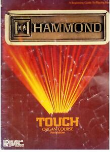 Hammond-Touch-Organ-Course-Part-1-Used-Organ-Music-Book