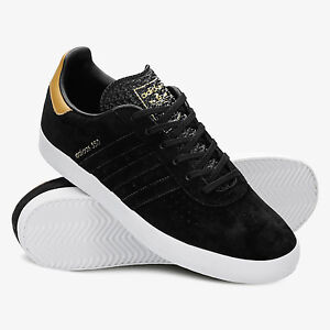 the latest c0874 1d09a Image is loading adidas-Originals-350-Black-Suede-Sneakers-BB5287-Size-