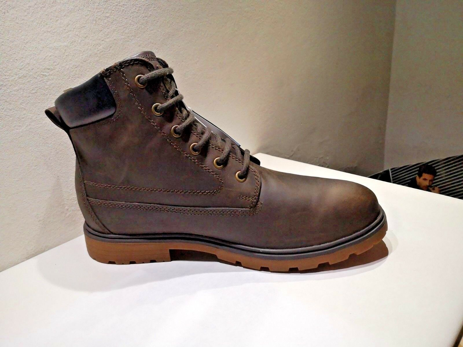 GEOX boots amphibiox leather brown NEW Value 169E Sizes ,41,43,44,45