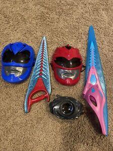 power rangers movie 2017 morpher masks weapons