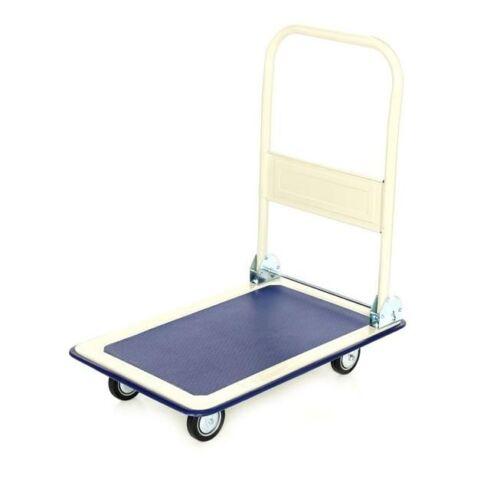 Carro de transporte 300 kg platformwagen carro de mano carretilla de saco carro con ruedas carro de plegado