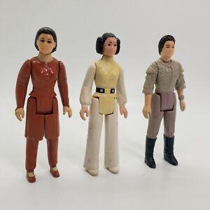 Vintage Star Wars Princess Leia Lot of 3 1977 1980 1984 Bespin Poncho Original